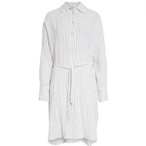 Elizabeth & James Shirt Tunic Stripe Top Button Up